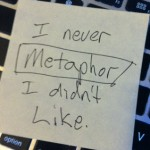 Turn an Old Post into a Metaphor: A Sticky Note Tip