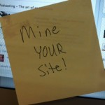 Mine Your Static Pages: A Sticky Note Tip