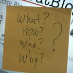 Restate the Question: A Sticky Note Tip