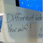 Differentiate Yourself: A Sticky Note Tip