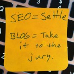 Lawyer Up Your Blogging: A Sticky Note Tip